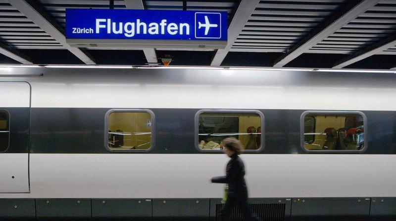 CFF: des trains ont été supprimés en direction de Zurich-Aéroport à cause d'un court-circuit
