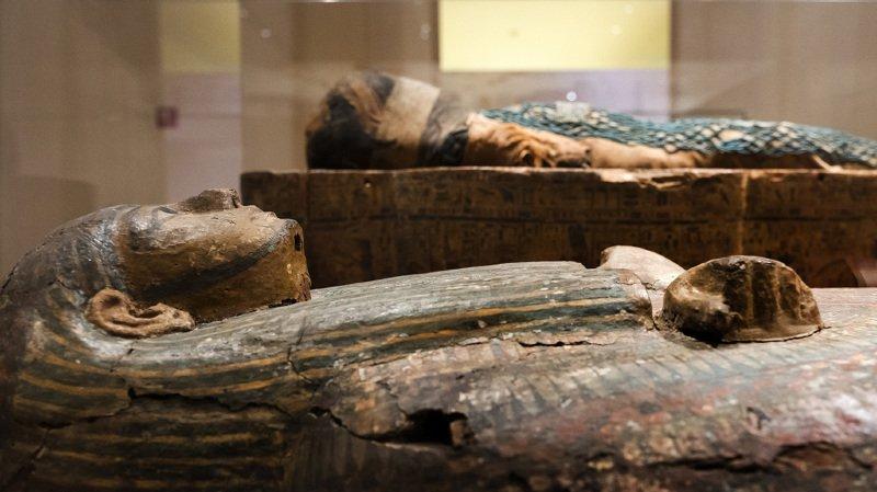 Une momie égyptienne d'une chanteuse est en fait un homme castré