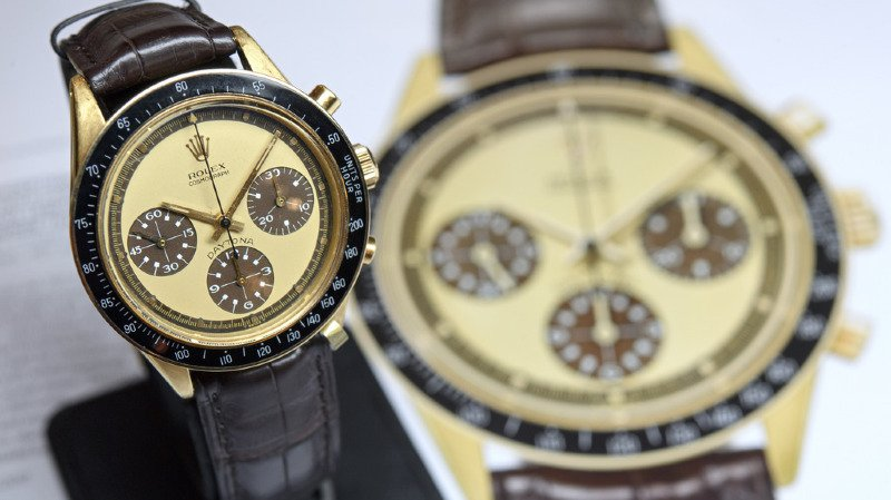 Enchères: record pour la Rolex de Paul Newman adjugée à 17,8 millions de dollars