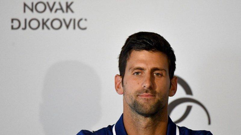 Tennis: après 10 ans de présence dans le Top 10 mondial, Novak Djokovic ne sera plus que 11e lundi prochain