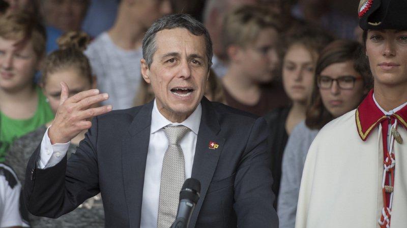 Ignazio Cassis a déposé sa demande d'adhésion en septembre, juste avant son élection au Conseil fédéral.