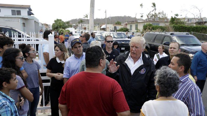 Ouragan Maria: Trump minimise le nombre de morts par rapport à ceux de Katrina