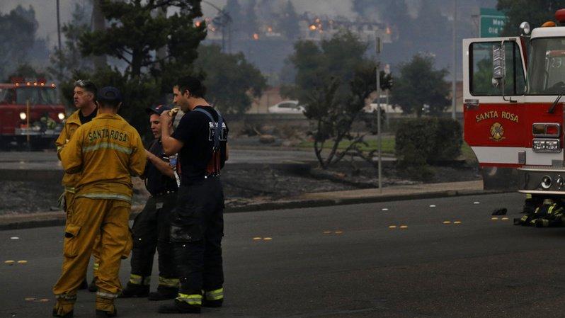 États-Unis: plusieurs gros incendies ravagent la Californie, treize morts et des milliers d'évacués