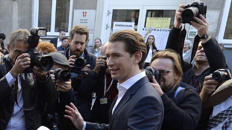 Autriche: le conservateur Sebastian Kurz, 31 ans, bien placé pour devenir le plus jeune dirigeant européen