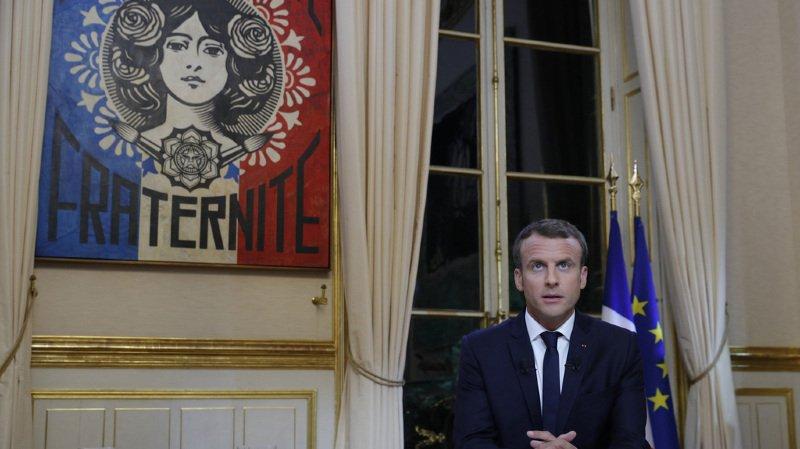 France: Emmanuel Macron invite à la patience lors de son premier entretien télévisé