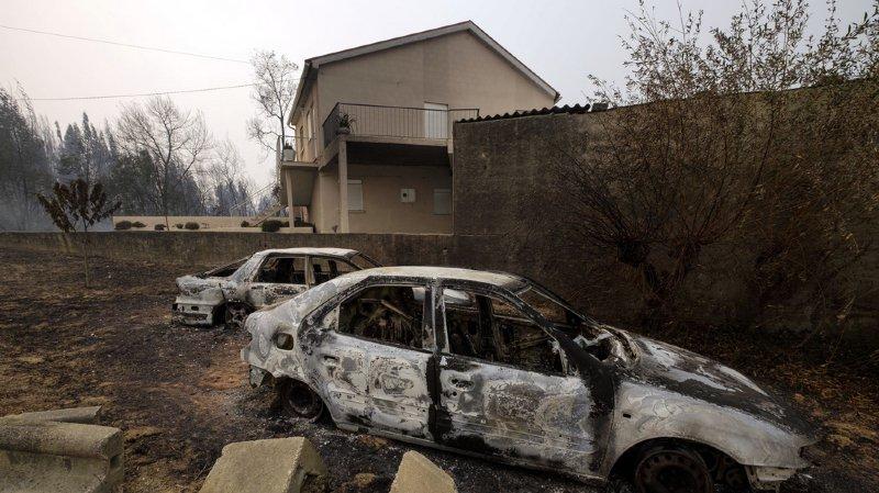 Incendies au Portugal et en Espagne: au moins 39 personnes ont été tuées par les feux de forêt