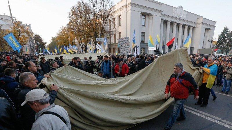 Ukraine: 5000 personnes ont manifesté contre la corruption