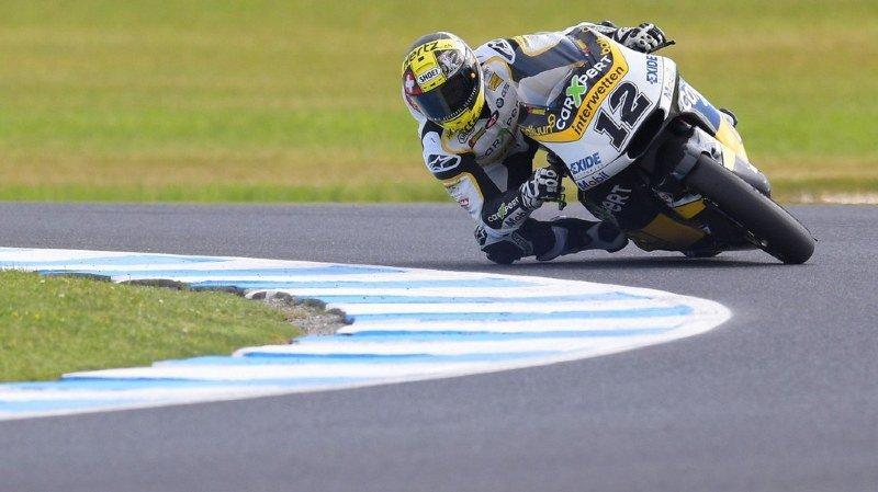 Moto2: le titre mondial s'éloigne pour Thomas Lüthi, seulement 10e du GP d'Australie