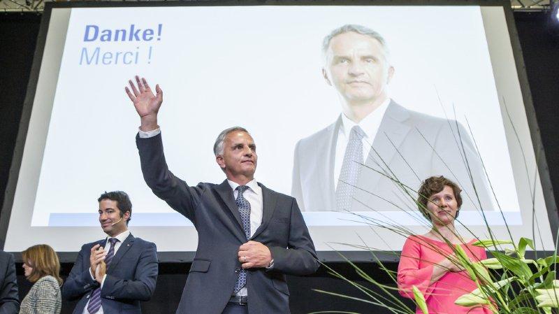 Assemblée du PLR à Engelberg: Didier Burkhalter a fait son discours d'adieu