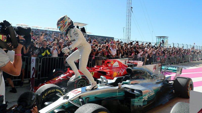 Formule 1: vainqueur du Grand Prix des Etats-Unis, Lewis Hamilton s'est encore rapproché d'un nouveau titre mondial