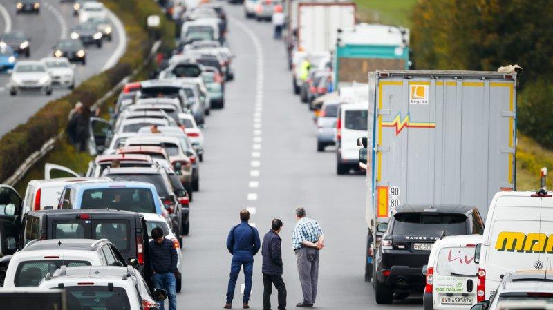 Camion couché sur l'A1: l'autoroute rouverte à la hauteur d'Aubonne