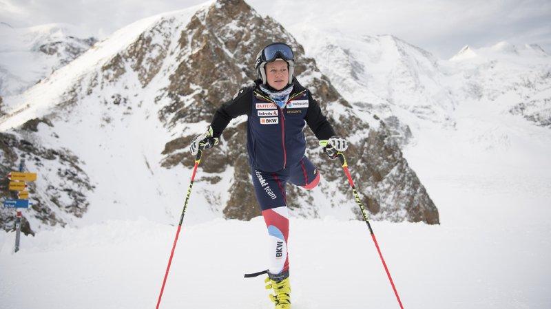 Ski alpin: après Janka, Simone Wild se blesse à son tour à l'entraînement