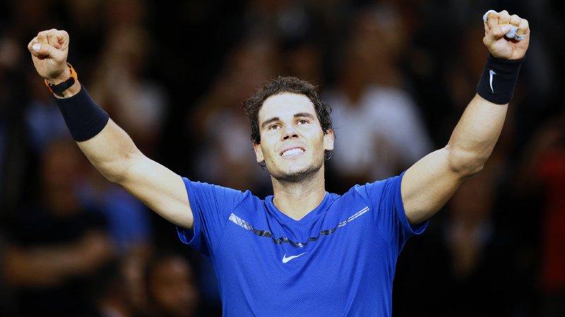 Masters 1000 de Paris-Bercy: Rafael Nadal assuré de terminer l'année en tête de classement ATP