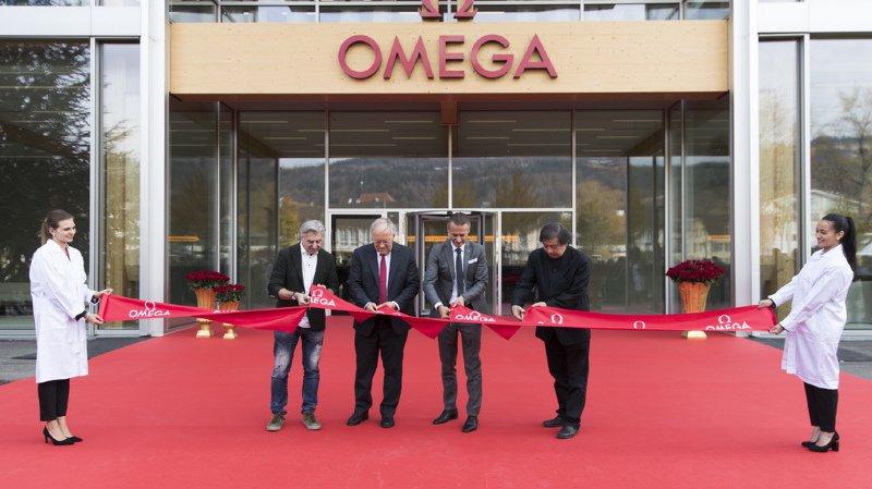 Omega dévoile sa nouvelle manufacture à Bienne