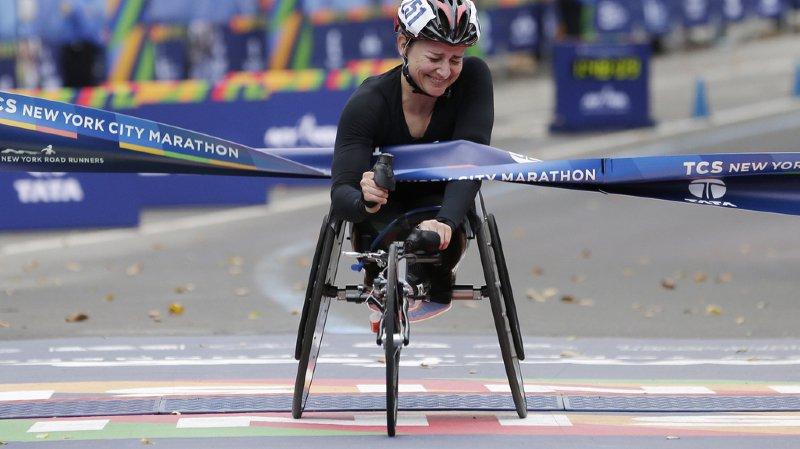 Marathon de New York: doublé suisse dans la catégorie des fauteuils roulants