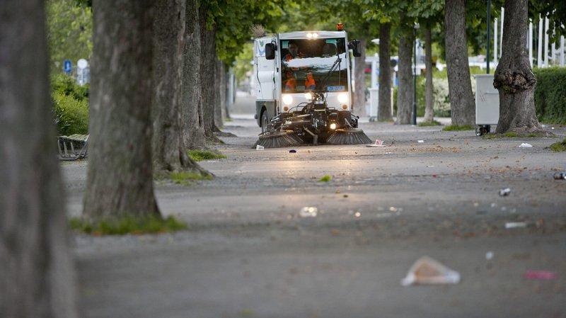 Déchets jetés dans les rues: petit tour d'horizon, en vidéo, des amendes à travers la Suisse