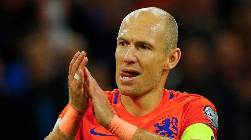 Arjen Robben s'en va en laissant un champ de ruines