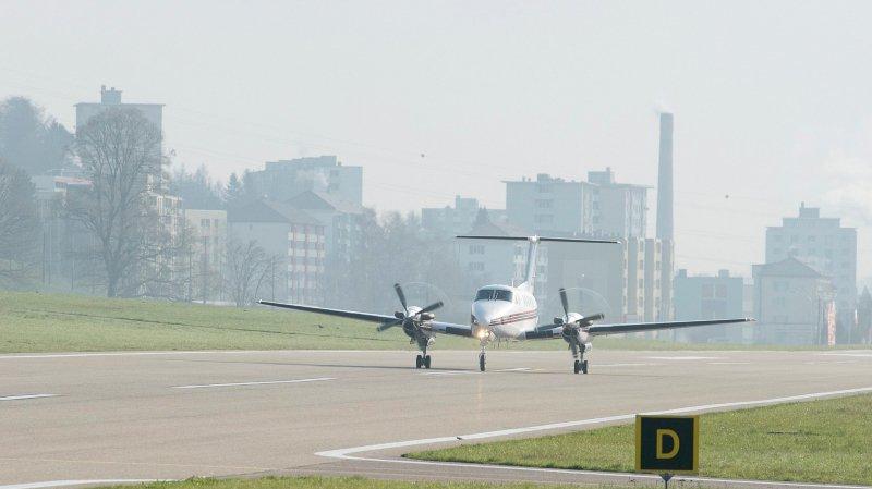 L'aéroport chaux-de-fonnier des Eplatures avance à vue en attendant une décision de subvention