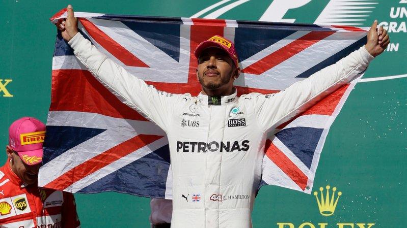 Lewis Hamilton touche au but