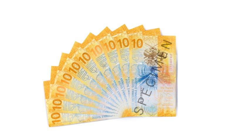 Voilà le nouveau billet de 10 francs, qui met à l'honneur les tunnels ferroviaires et l'horlogerie suisses