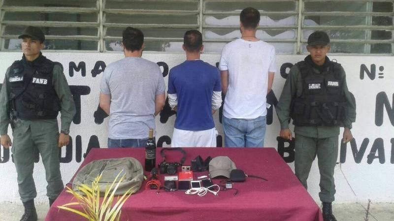 Ils ont été arrêtés dans l'Etat d'Aragua, au nord du pays.