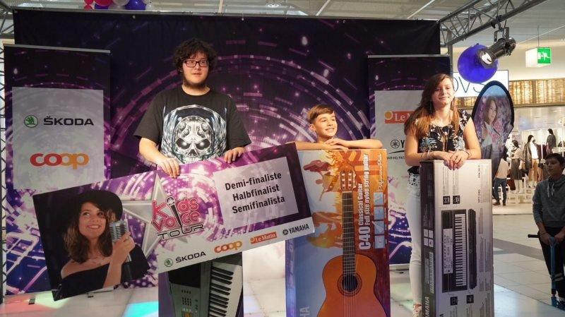 Nathan Wasser, lycéen chaux-de-fonnier gagne la huitième étape du Kids Voice