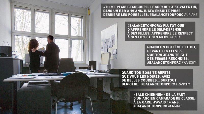 """Harcèlement sexuel: les Neuchâteloises sont aussi victimes de """"porcs"""""""