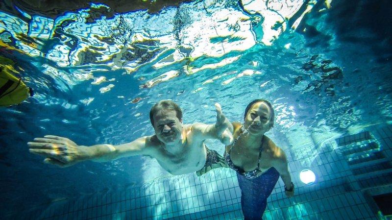 On a testé la nage de sirène au Nid-du-Crô