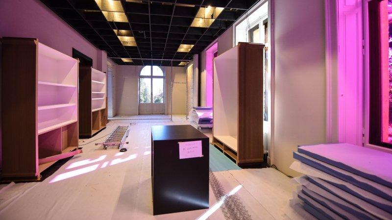 Fin du lifting de la villa de Pury au Musée d'ethnographie de Neuchâtel
