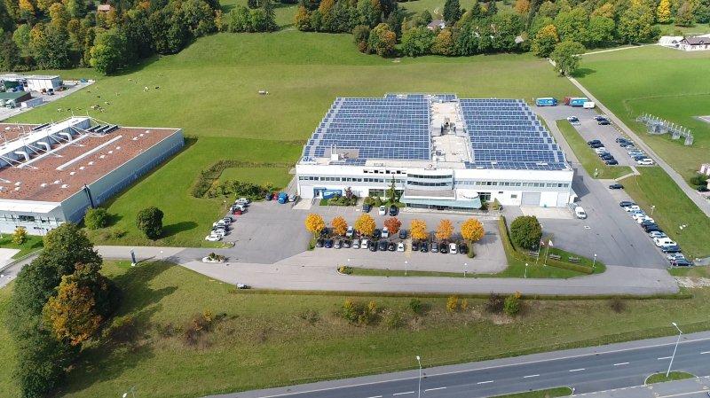 La plus grande centrale solaire des Montagnes neuchâteloises est au Crêt-du-Locle