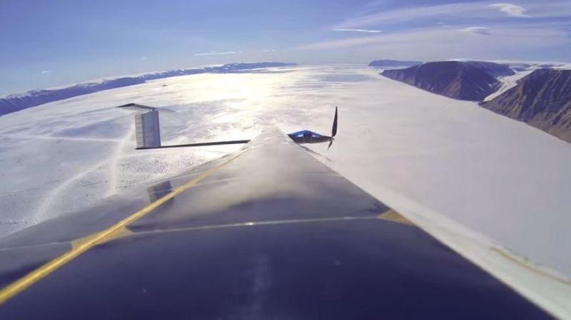 L'EPFZ teste un drone solaire au Groenland