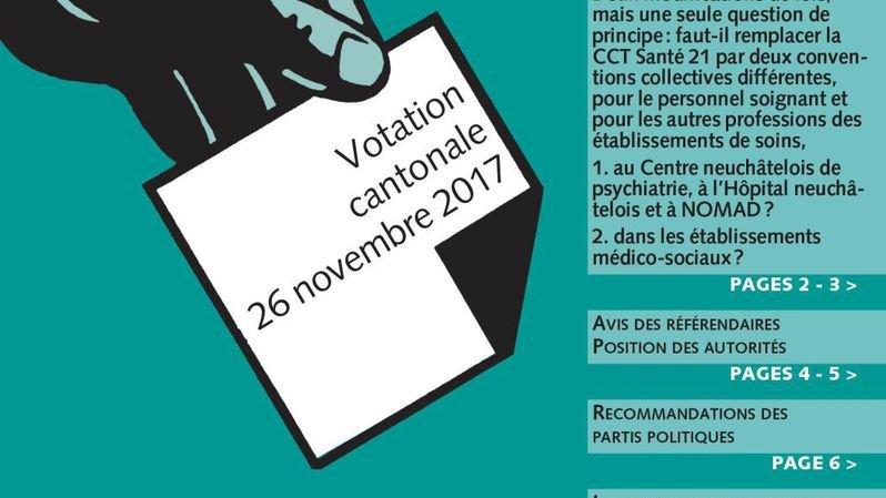 Canton de Neuchâtel: la campagne sur la CCT santé 21 s'enflamme