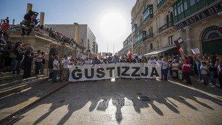 Malte: des milliers de personnes manifestent leur désir d'unité après l'assassinat d'une journaliste