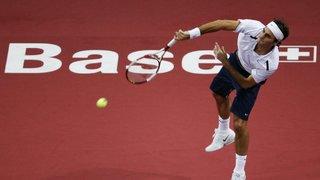 Swiss Indoors: les 8 victoires de Roger Federer à domicile