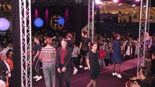 Défilé en mode show musical