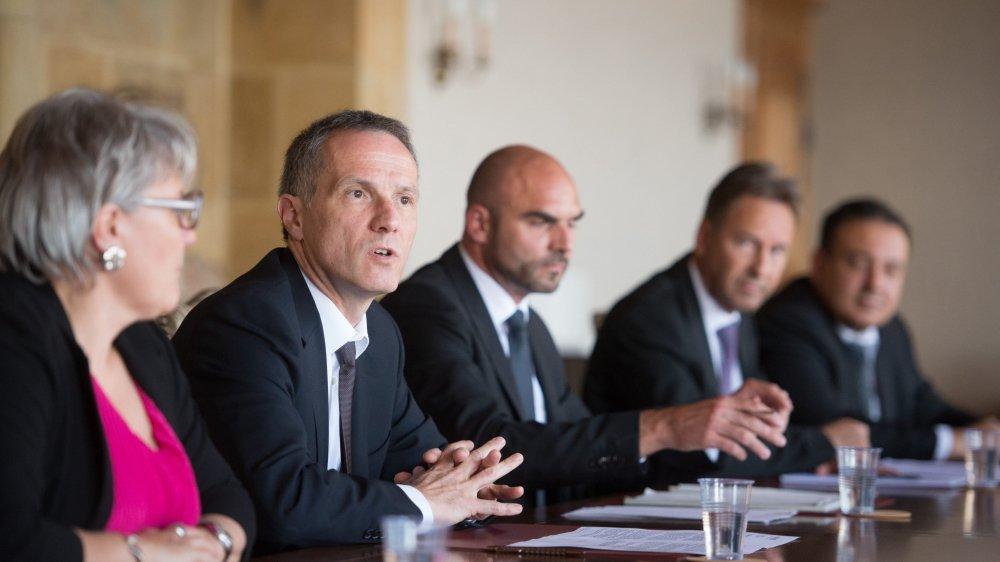Le Conseil d'Etat neuchâtelois a présenté son programme de législature pour les quatre années à venir.