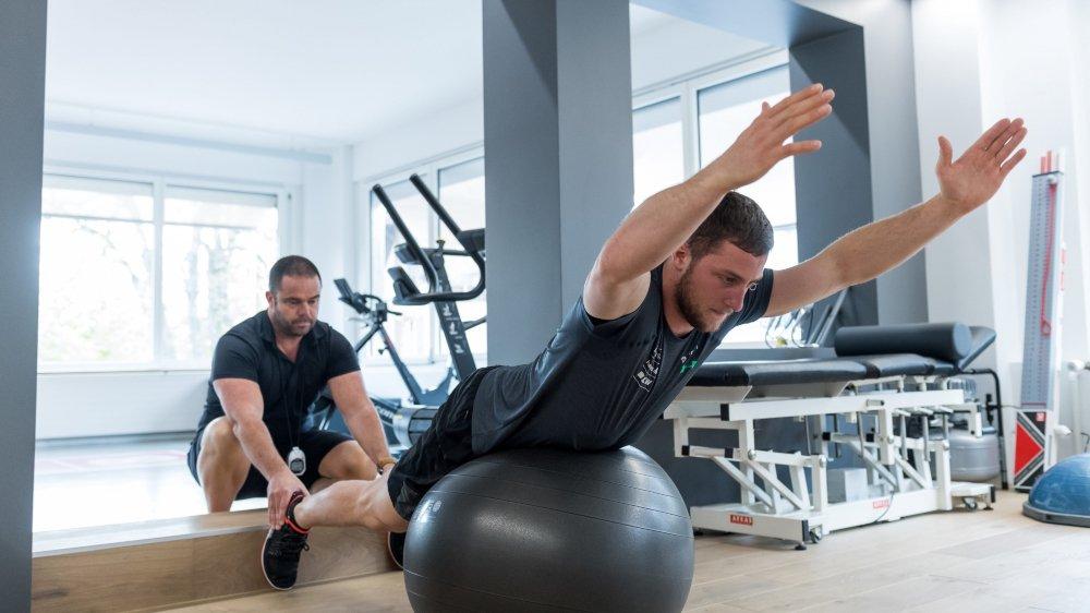 Justin Murisier a enfin pu réaliser une préparation complète avec Florian Lorimier.
