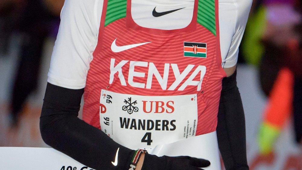 Julien Wanders s'entraîne souvent au Kenya.