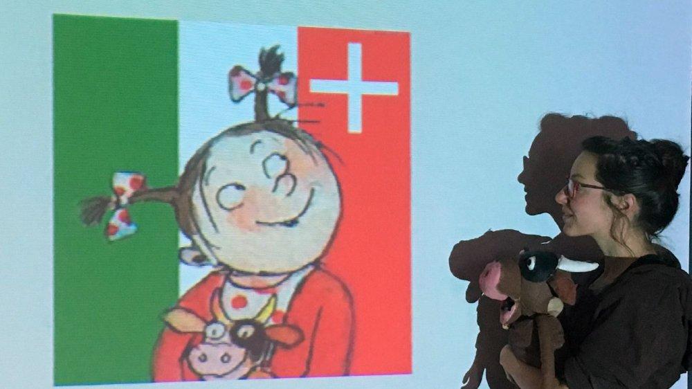 Aurore Faivre se glisse avec une grâce enfantine dans le personnage de Petchi.