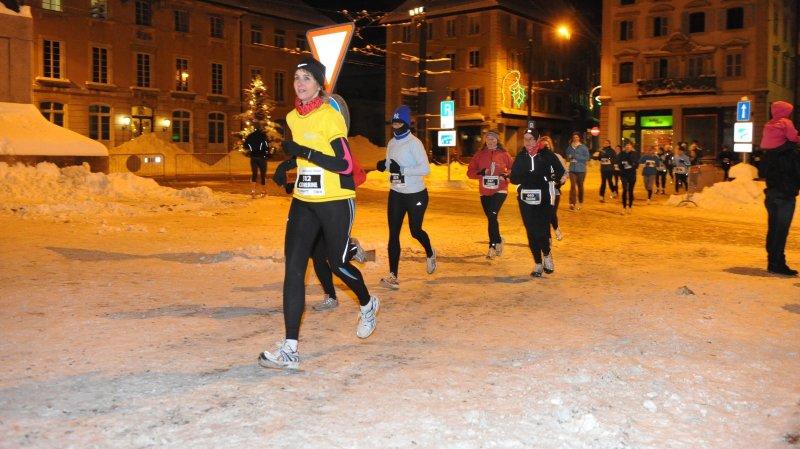 Les participants à la Trotteuse-Tissot doivent se préparer à affronter la neige et le froid, comme en 2012.