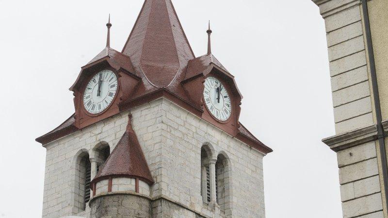 Les protestants qui fréquentent les temples neuchâtelois (ici celui du Locle) sont en constante diminution.