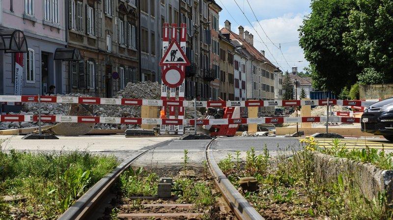 La Chaux-de-Fonds: réouverture du trafic routier et ferroviaire sur les rues du Crêt et du Manège