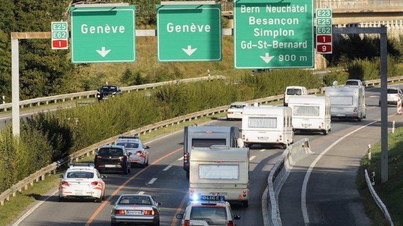 Circulation: les caravanes pourront rouler à 100 kmh/h au lieu de 80 sur les autoroutes