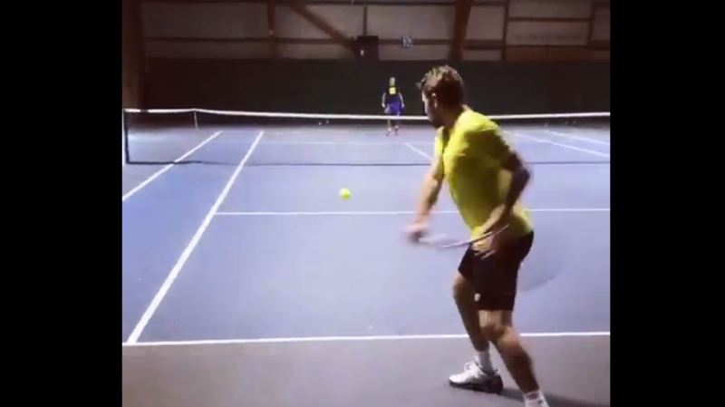 Tennis: Stan Wawrinka est de retour sur le court