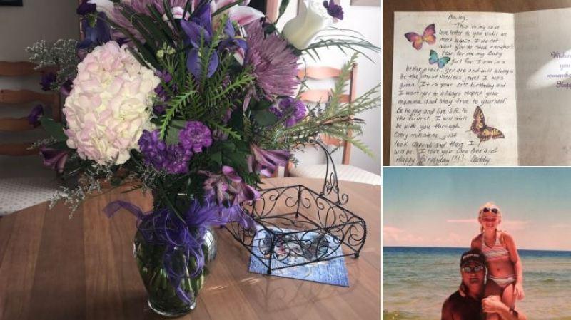 Décédé en 2013, un papa fait livrer des fleurs à sa fille chaque année pour son anniversaire