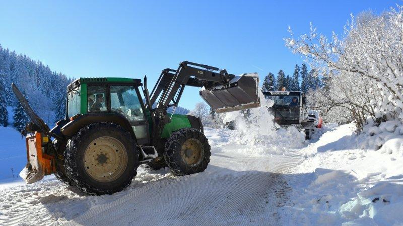 A La Vue-des-Alpes, les fondeurs auront de la neige pour skier tout l'hiver
