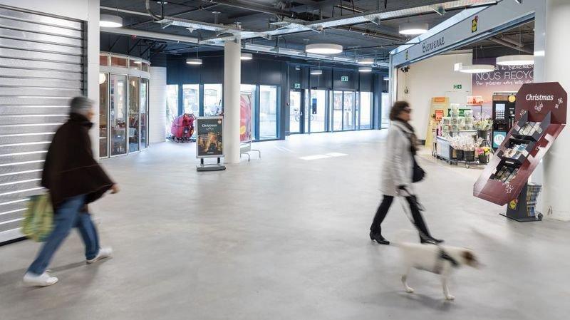 Neuchâtel: City Centre reprend vie peu à peu