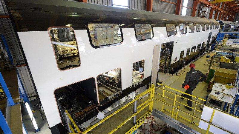 CFF: le nouveau train à deux étages de Bombardier sera progressivement mis en service en 2018