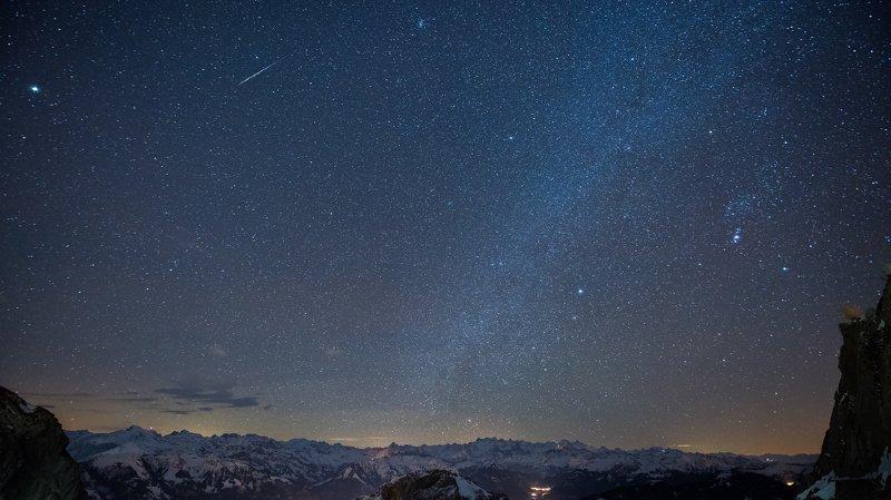 Feu d'artifice: une pluie d'étoiles filantes exceptionnelle attendue dans la nuit de mercredi à jeudi