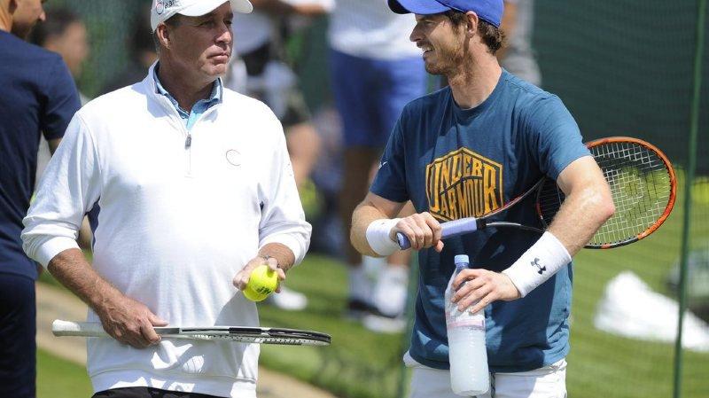 Tennis: Andy Murray se sépare de son entraîneur Ivan Lendl